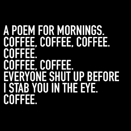 a poem about coffee