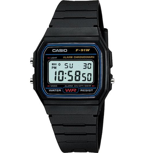 F91W watch from Casio